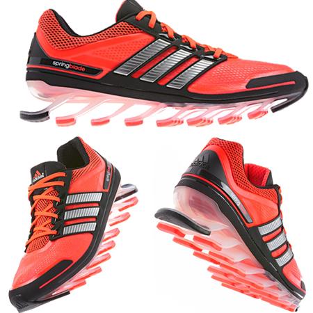 8eb35e2c Инновационные беговые кроссовки Adidas Springblade