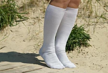 женские потные носки фото