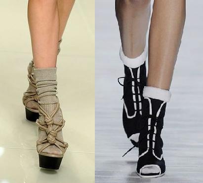 Модная обувь весна 2010 - спортивный стиль.