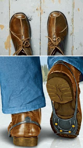 Что сделать, чтобы обувь не скользила? По Совету 100