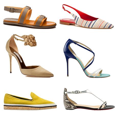 Женская обувь на лето картинки